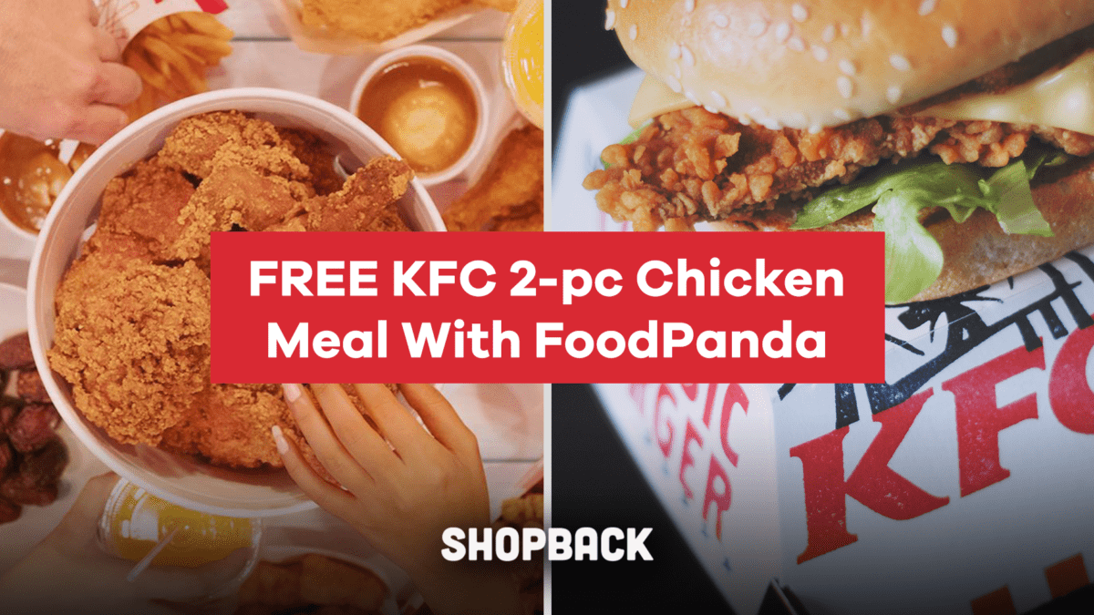 Get Your FREE 2-PC Chicken Meal from KFC From 24 – 31 Aug!