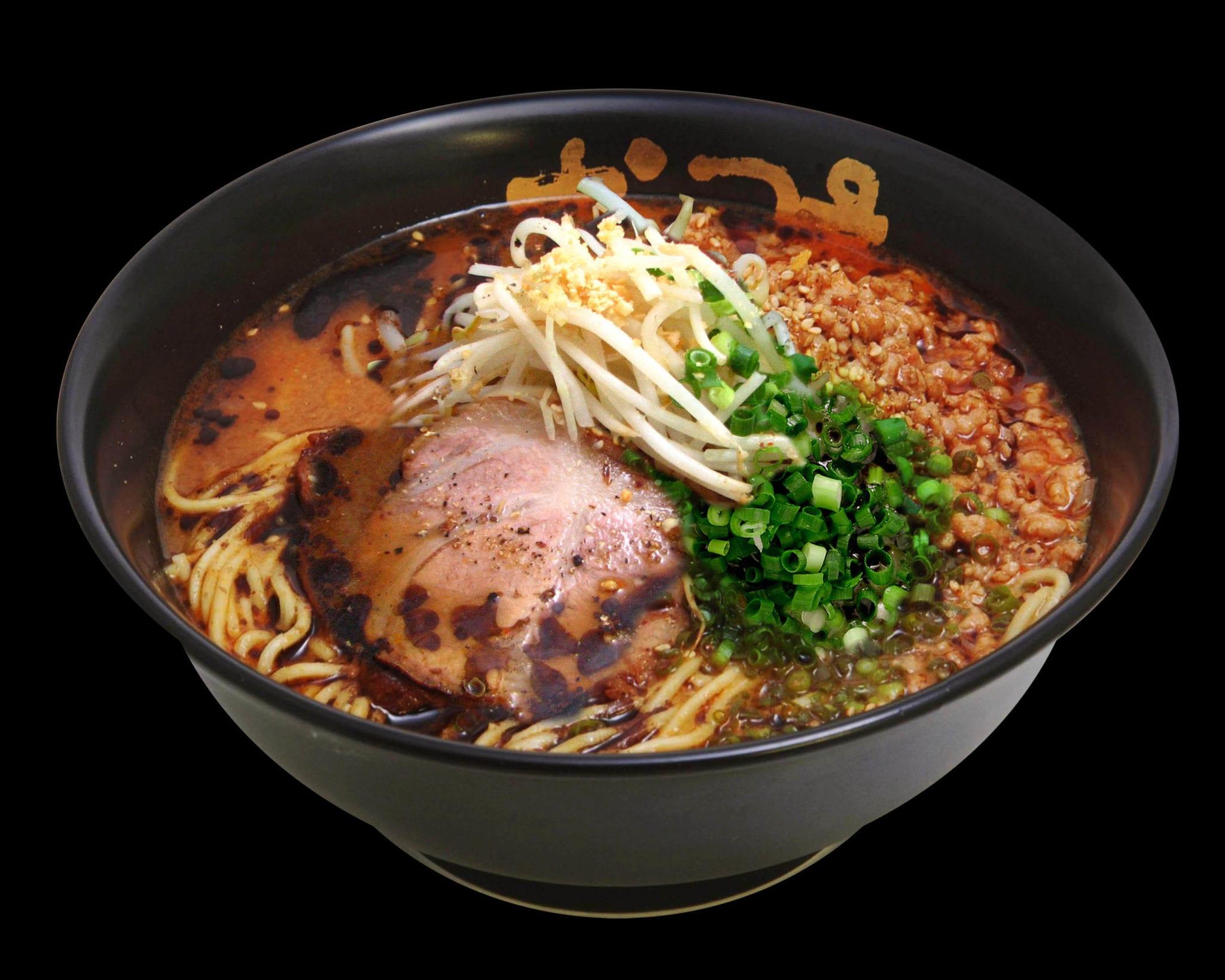 spicy miso ramen with pork slices