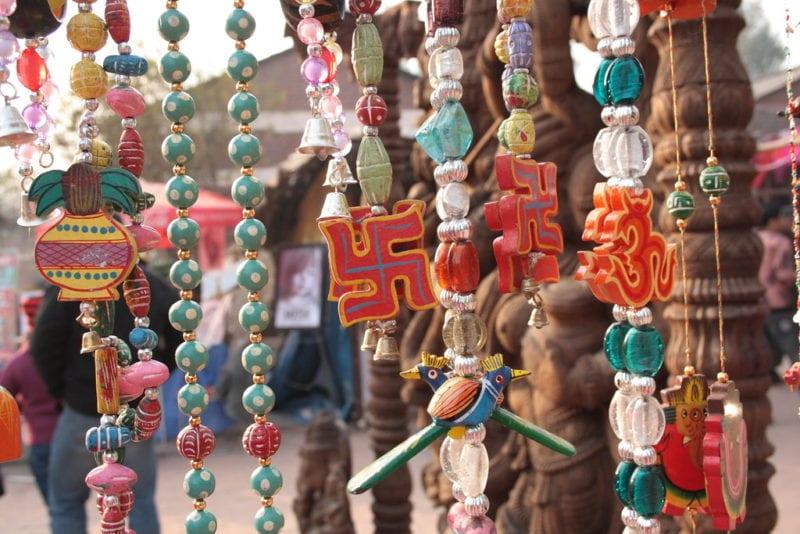 local market decorations