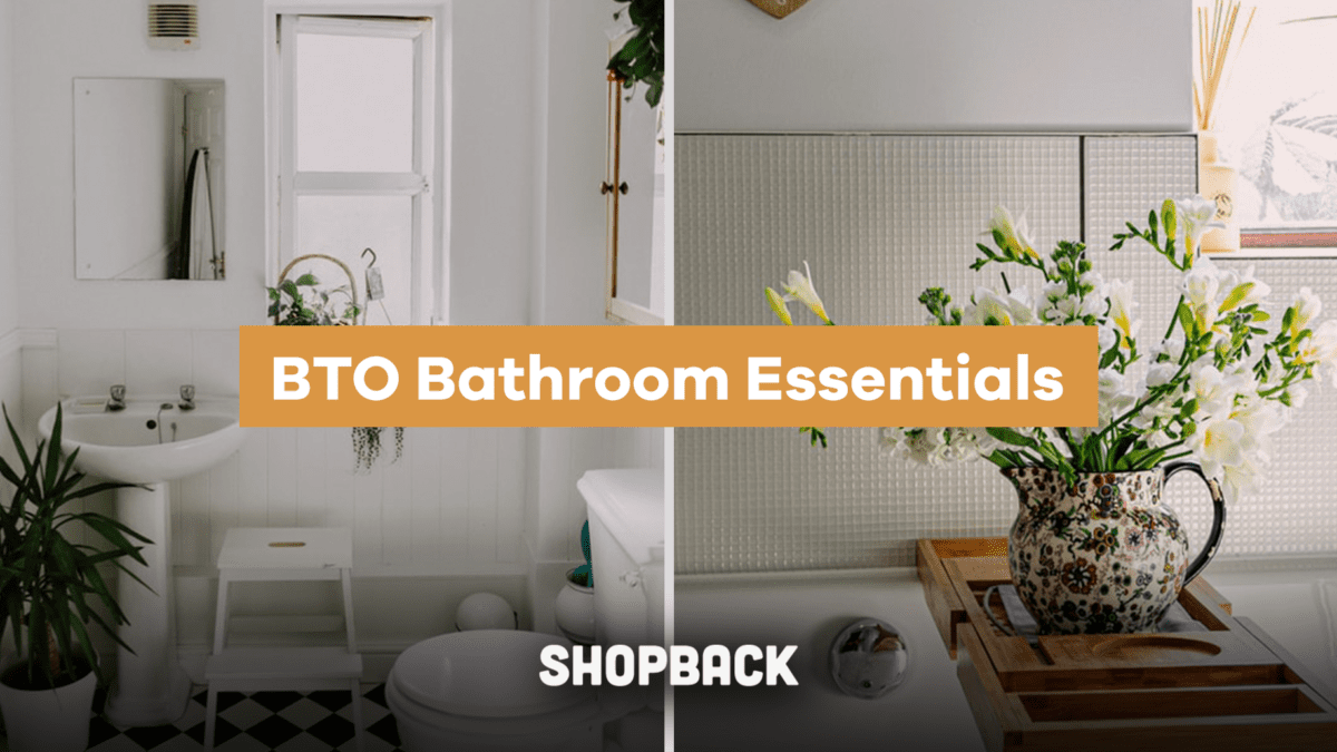 Style your BTO with these Bathroom Essentials