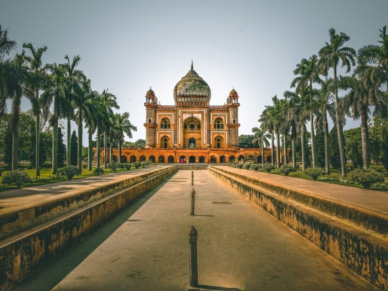 ancient Indian temple in New Delhi