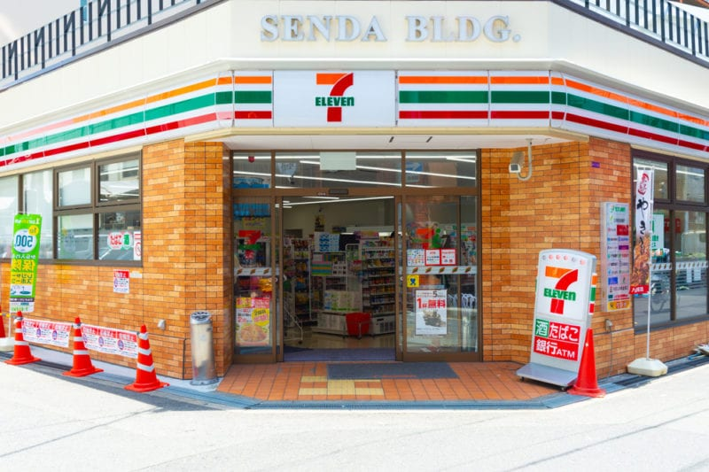 7-eleven convenience store in Japan