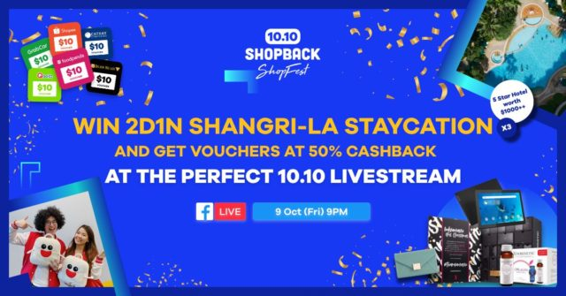 Shopback livestream FB