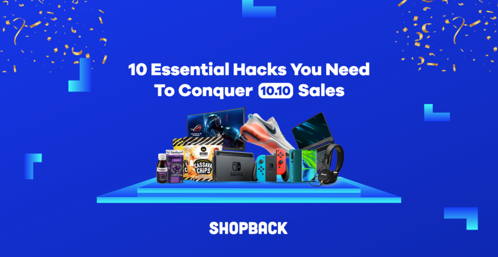 10.10 sales ShopBack ShopFest