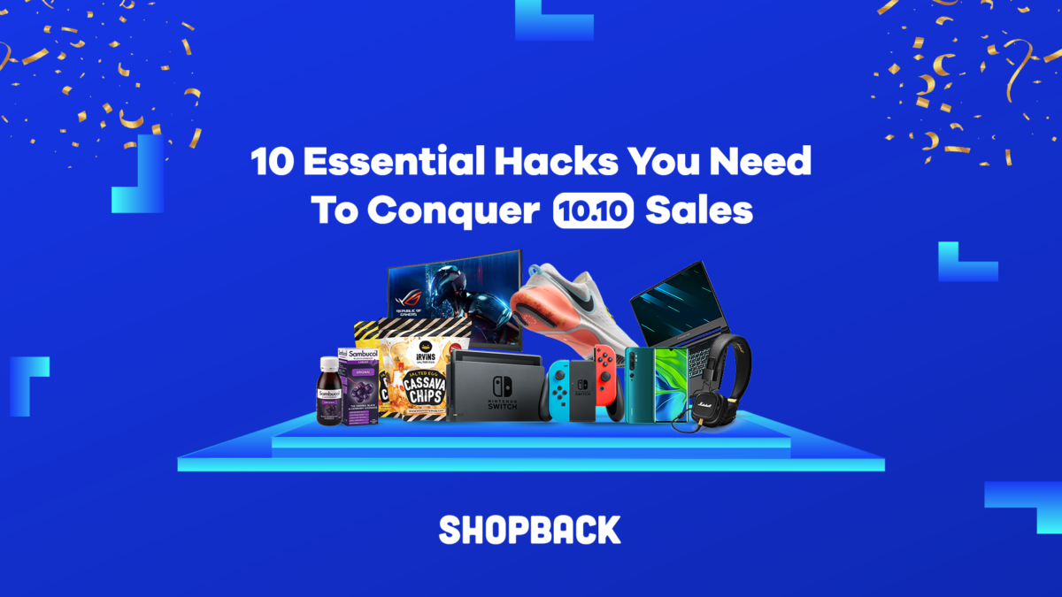 10 Essential Hacks You Need To Conquer 10.10 Sales #ShopBackShopFest