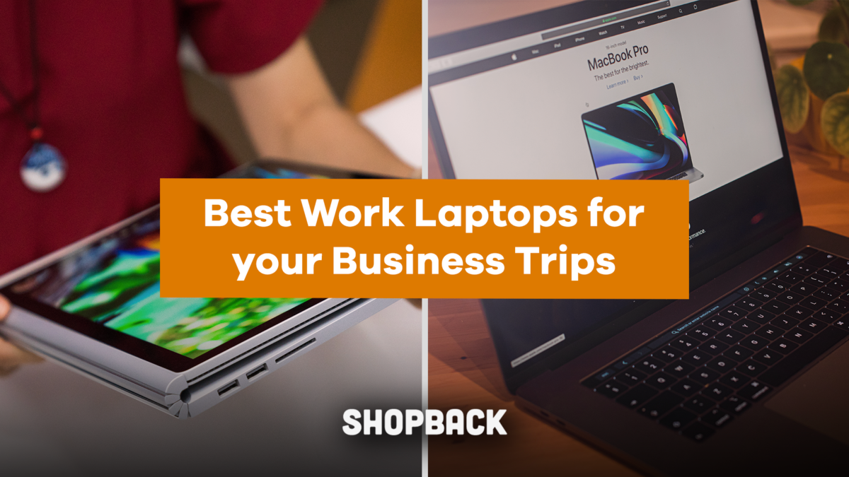 Best Work Laptops for your Business Trips