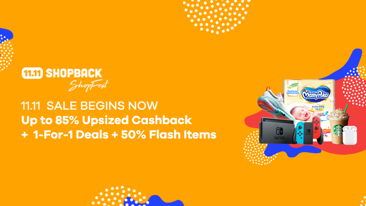 All You Need To Know For The 11.11 Sales on ShopBack!