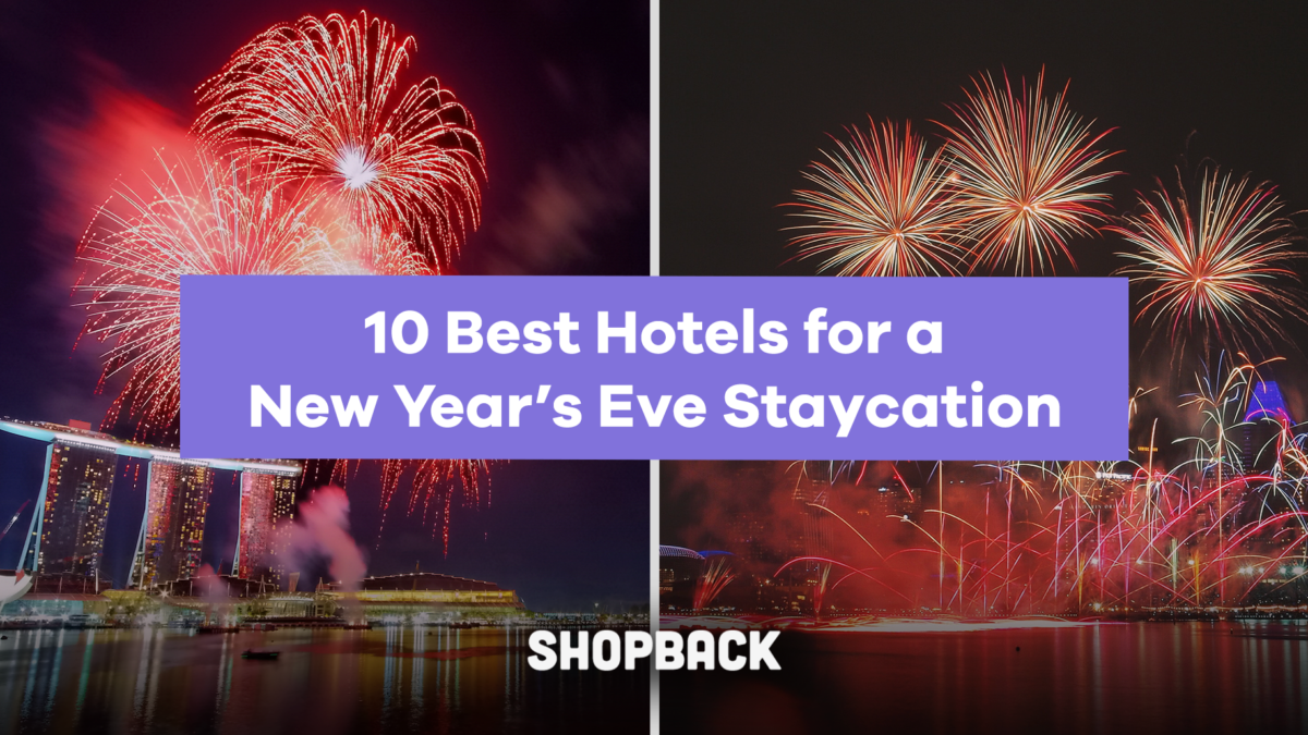10 Hotels to watch the 2020 New Year's Eve Countdown in Singapore
