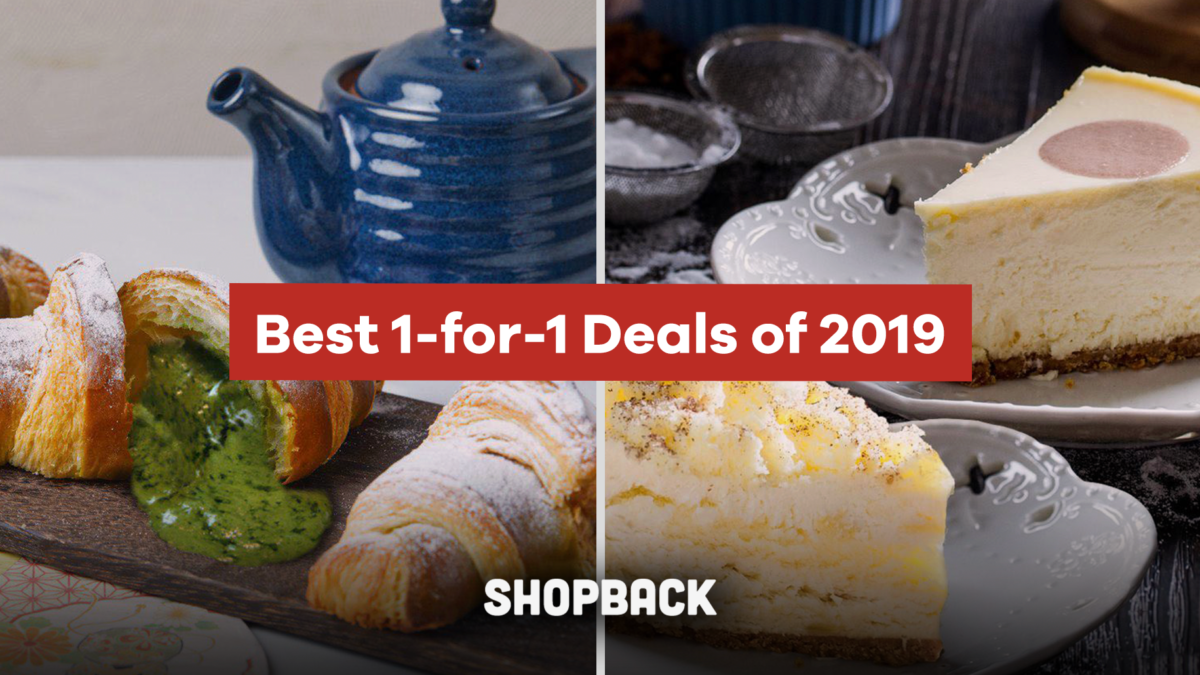 Best 1-for-1 Deals You Can't Miss Before 2019 Ends!