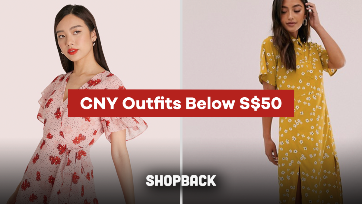 HUAT is your Lucky Colour? CNY Outfit Ideas below S$50