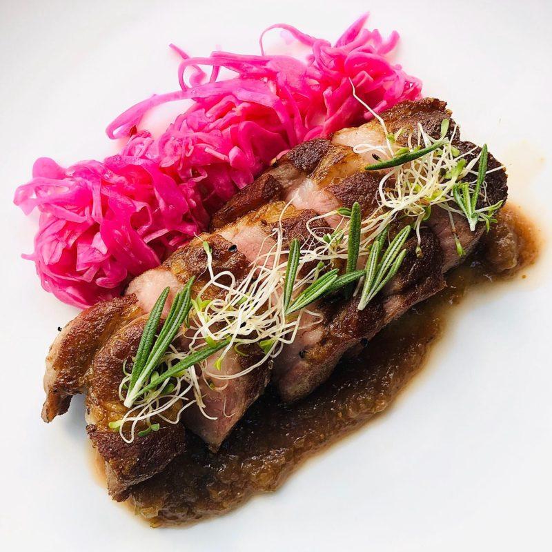 restaurant beet and beef cheek