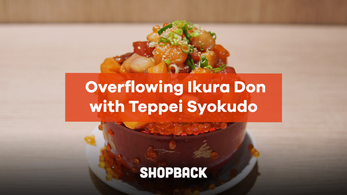 Grab a bowl of Overflowing Ikura Don to Satisfy Your Cravings for Authentic Japanese Food!