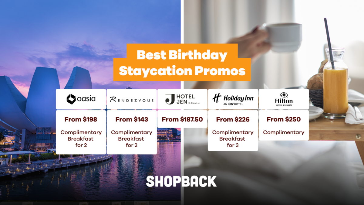 Best Birthday Staycation Deals with Free Room Upgrade, Complimentary Breakfast and more!