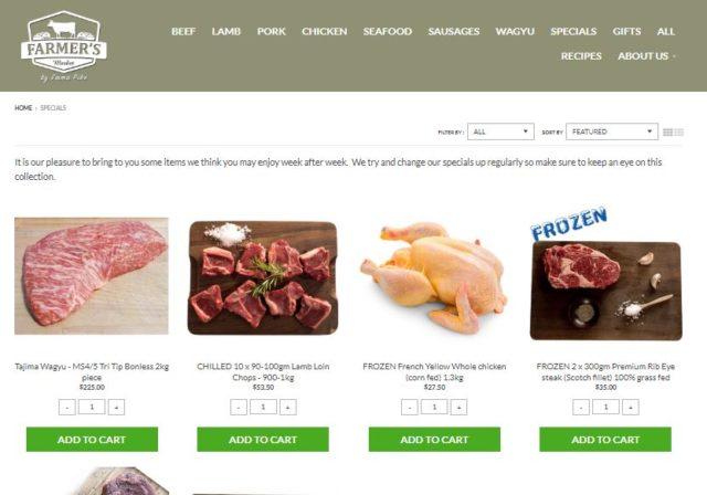 farmer's market online grocery store