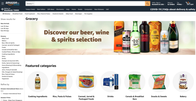 amazon.sg online grocery store