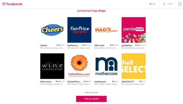 foodpanda online grocery store