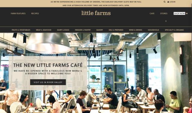 little farms online grocery stoe