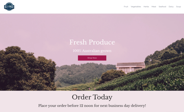 australian produce food and deli online grocery store