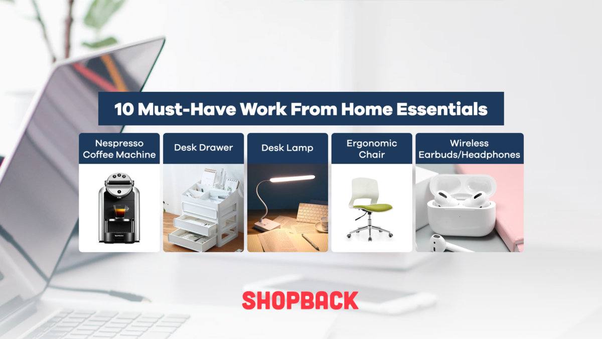 10 Work From Home Essentials to Curate A Productive Workspace
