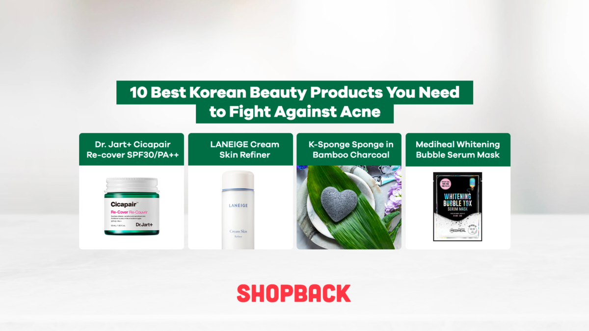 10 Best Korean Beauty Products You Need to Fight Against Acne