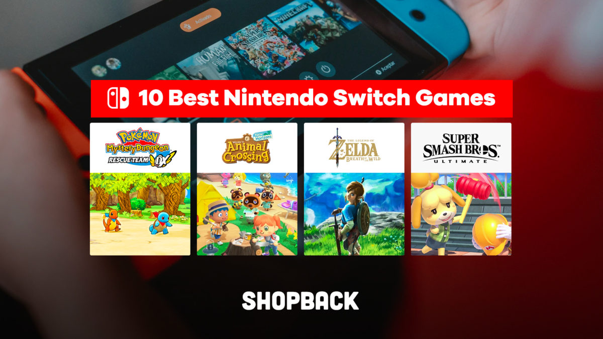 Best Nintendo Switch Games to Cure Cabin Fever