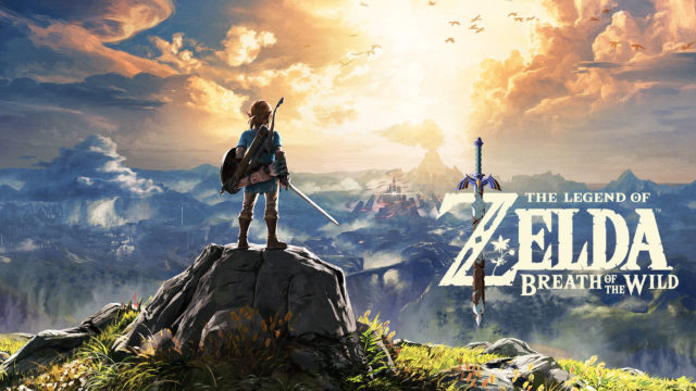 The Legend of Zelda: The Breath of The Wild Nintendo Switch Game