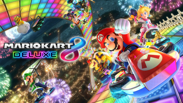 Nintendo Switch Mario Kart 8 Deluxe game