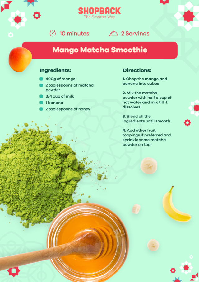 ramadan smoothie recipe