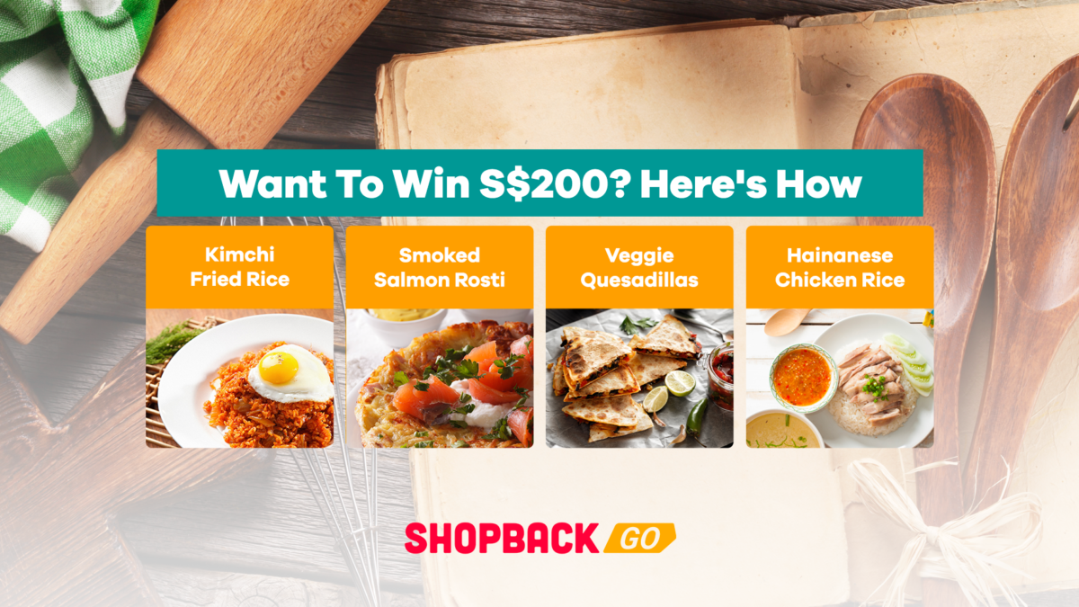 Want To Win S$200 By Cooking? Here's How