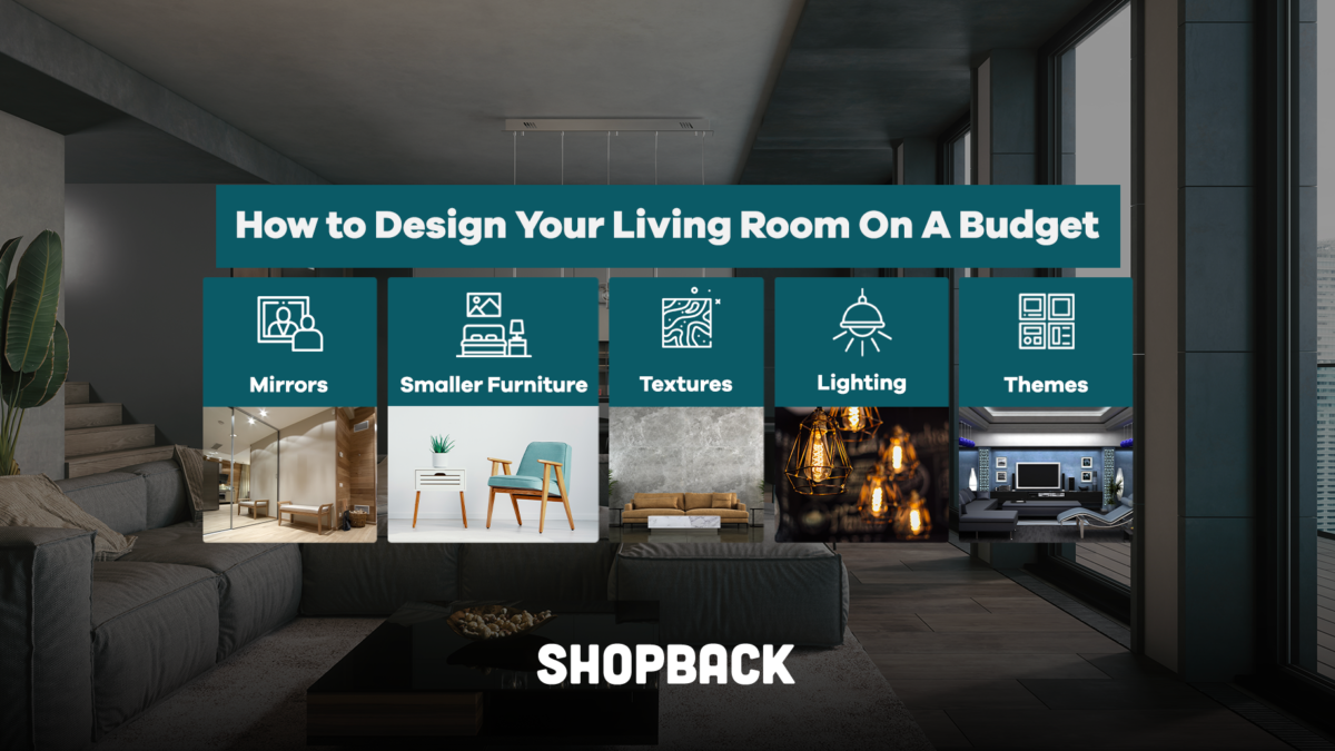 How to Design Your Living Room On A Budget