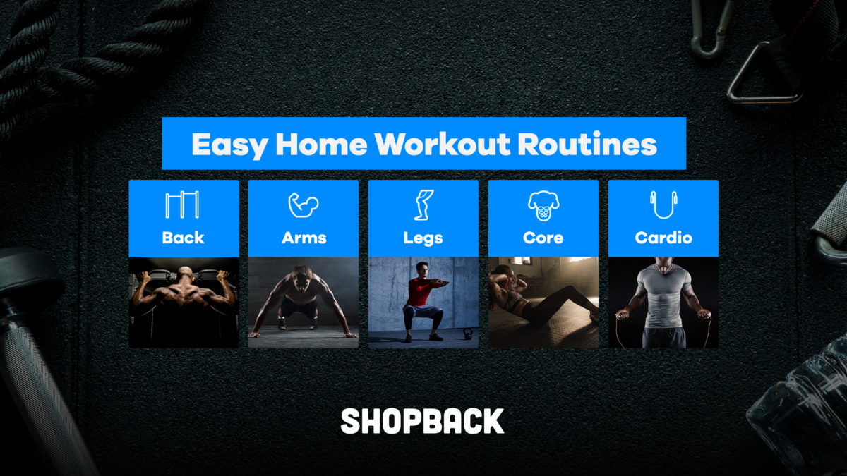 No Time To Exercise? Home Workout Routines You Can Easily Do At Home