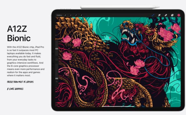 iPad Pro A12Z Bionic Chip