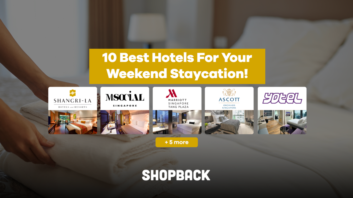 10 Best Hotels For Your Weekend Staycation!