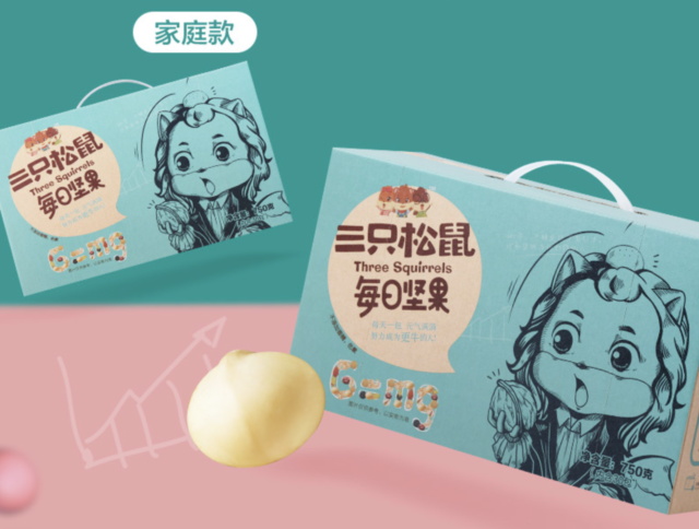 Three Squirrels Daily Taobao Snack Pack