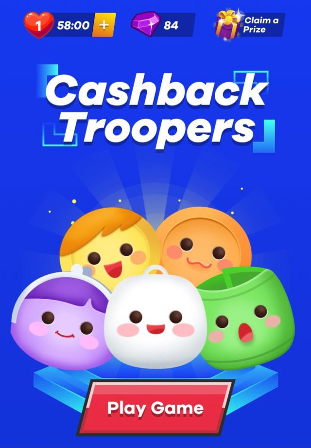 Cashback Troopers Home Page