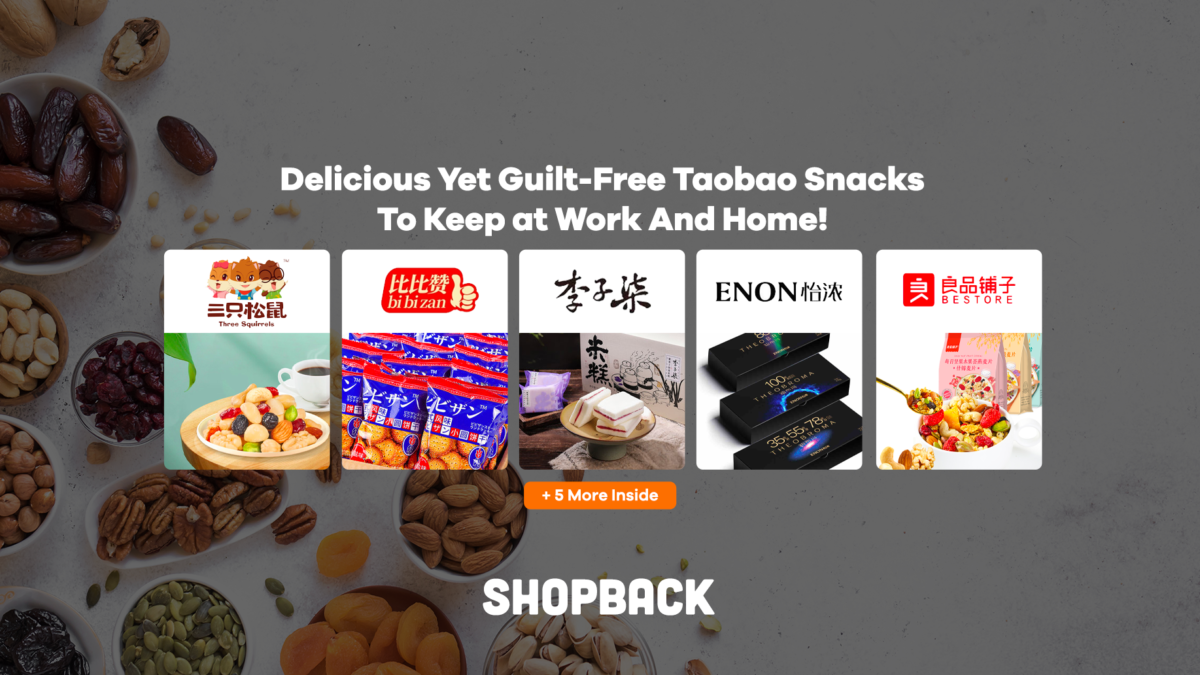 Delicious Yet Guilt-Free Taobao Snacks To Keep at Work And Home!