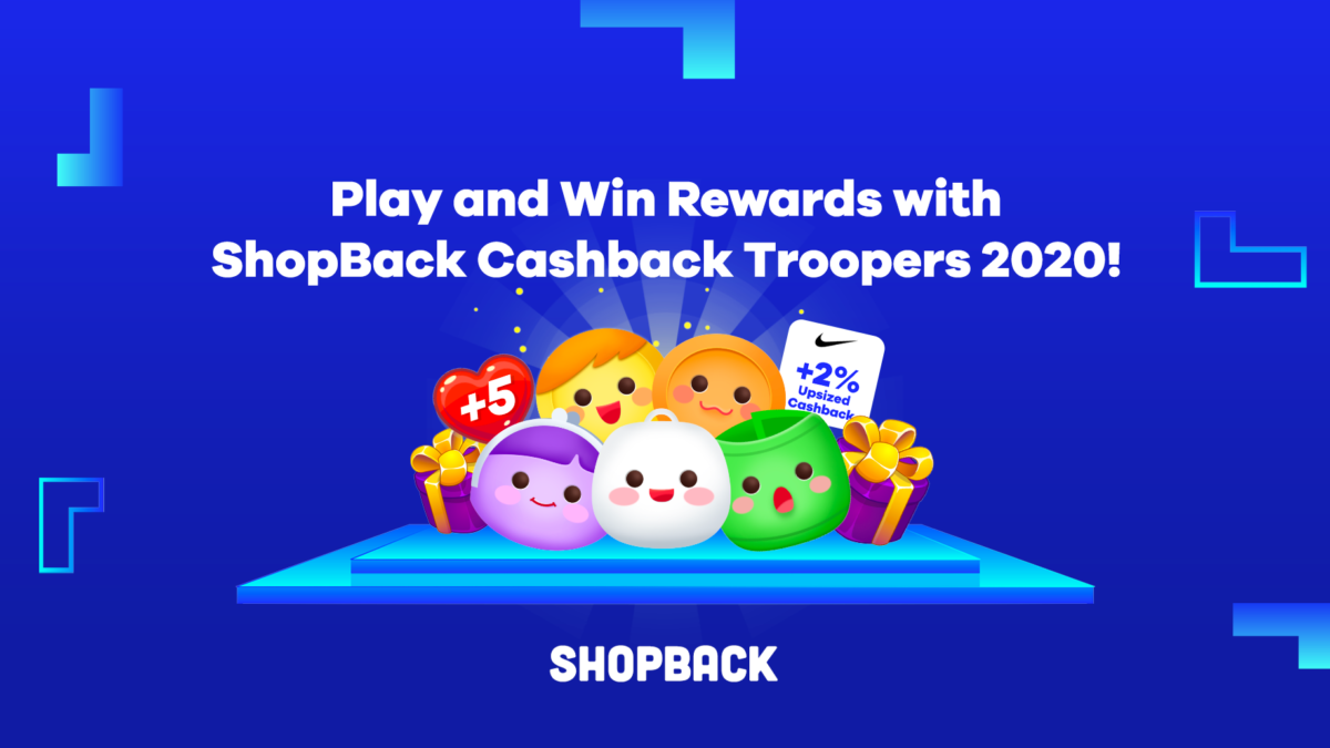 Play and Win Rewards with ShopBack Cashback Troopers!