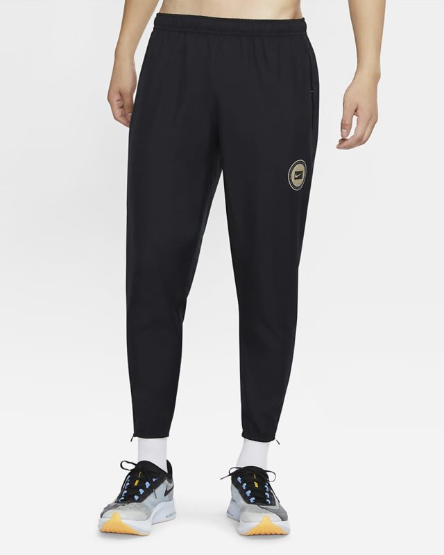 nike essential wild run men's woven running trousers cooling fabric