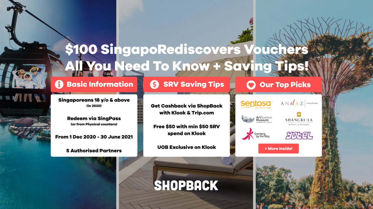 SingapoRediscovers Vouchers – How To Use Your $100 Plus Saving Tips!