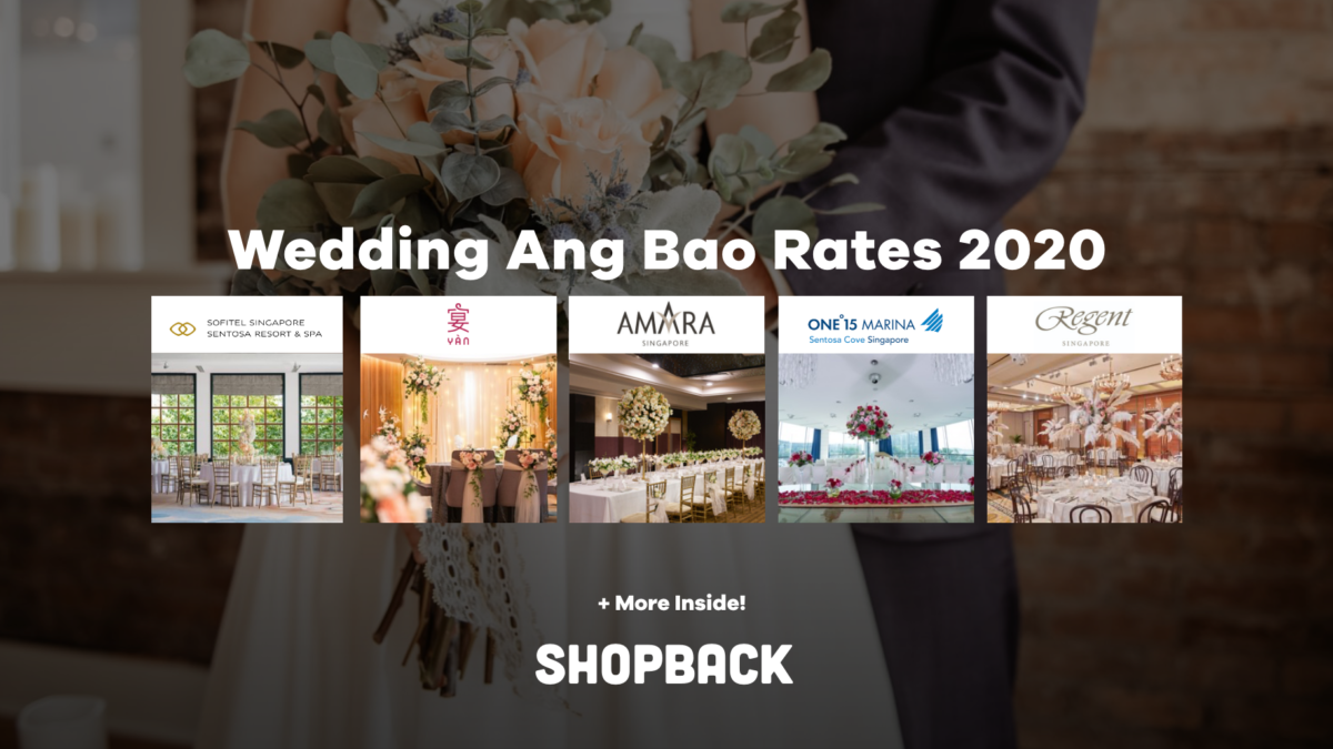 Wedding Ang Bao Rates 2020 – Updated Banquet Price List of Hotels