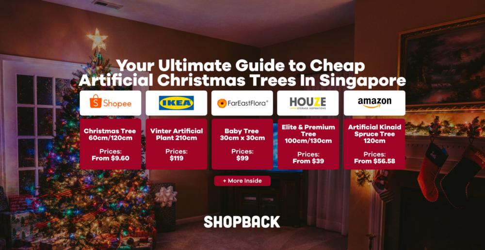artificial christmas tree guide singapore 2020