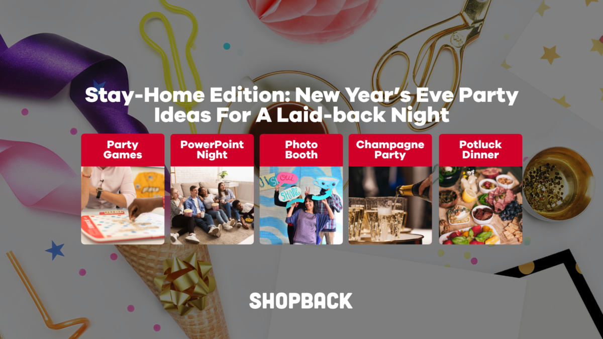 Stay-Home Edition: New Year's Eve Party Ideas For A Laid-back Night