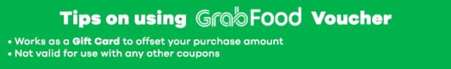 How to use Grabfood Voucher