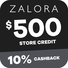 Earn 10% Cashback on $500 Zalora gift cards purchases with ShopBack
