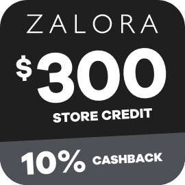 Earn 10% Cashback on $300 Zalora gift cards purchases with ShopBack