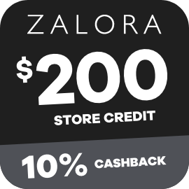 Earn 10% Cashback on $200 Zalora gift cards purchases with ShopBack