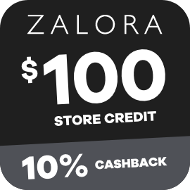 Earn 10% Cashback on $100 Zalora gift cards purchases with ShopBack