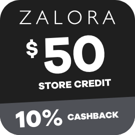 Earn 10% Cashback on $50 Zalora gift cards purchases with ShopBack