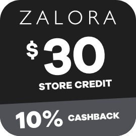 Earn 10% Cashback on $30 Zalora gift cards purchases with ShopBack
