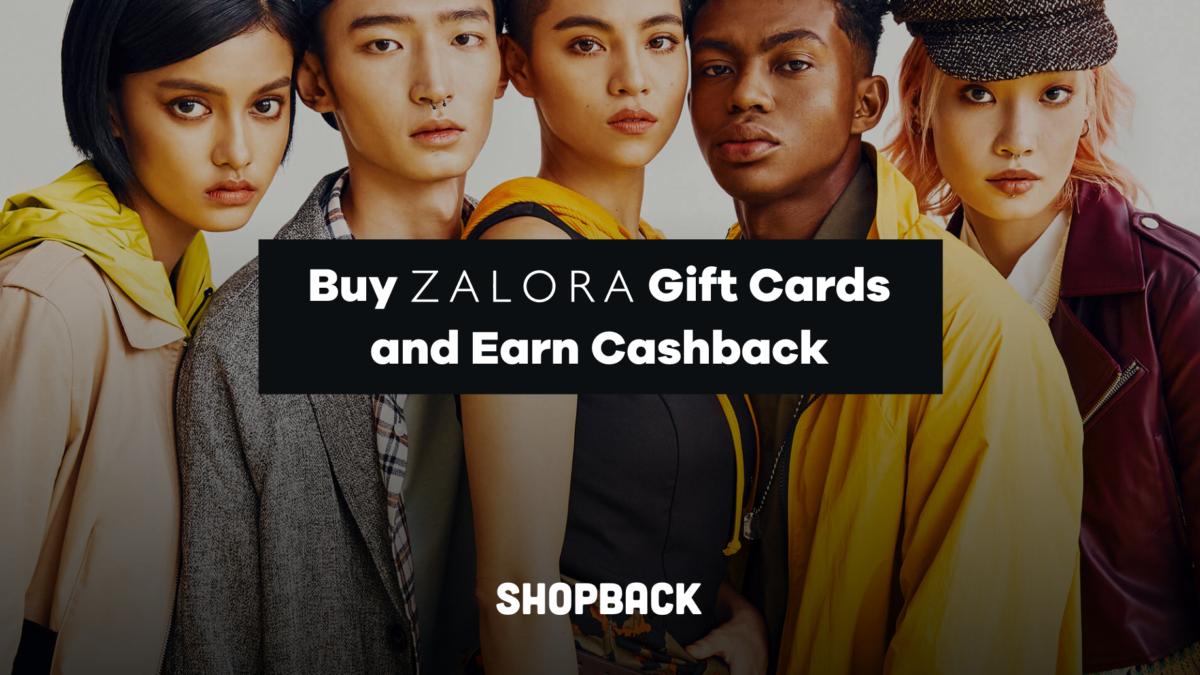 Zalora Gift Cards & Vouchers – Get Cashback with ShopBack